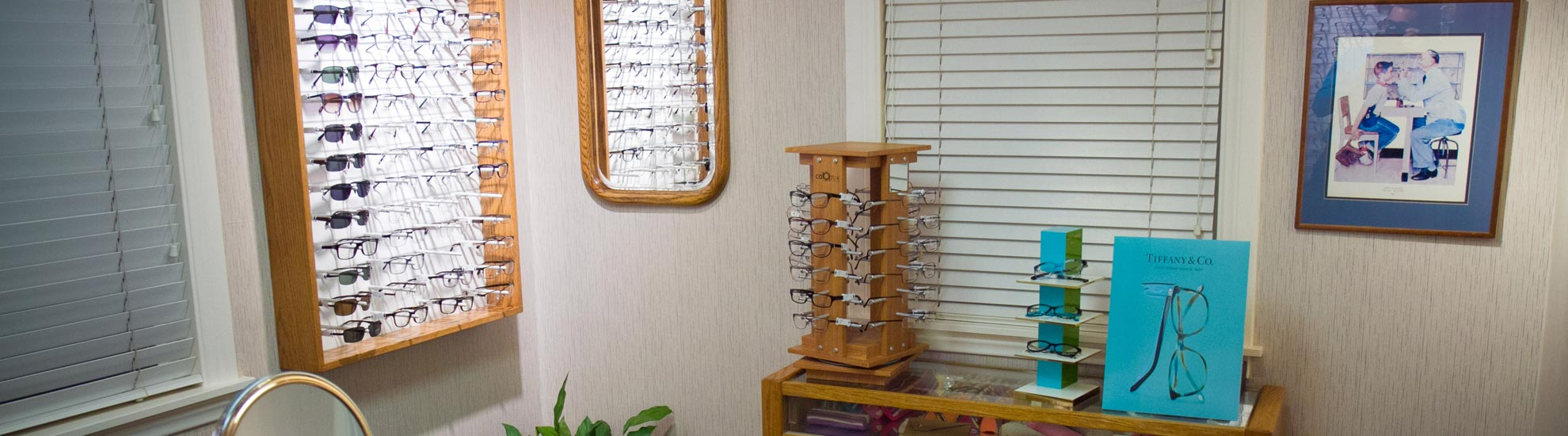 Interior Upland Optometric Center