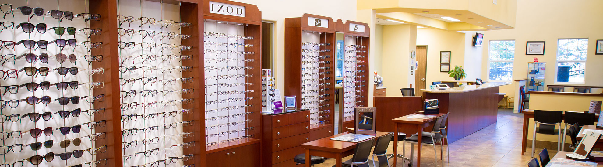 Fontana Optometric Group frames eyewear